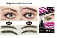Eyebrow Enhancers Fiber Natural Hair Gel Eye Brow Extension 3D Black, Dark Brown