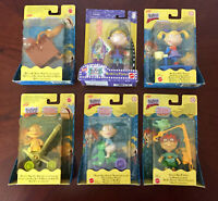 Rugrats Toy Figure Lot Baby Dill Tommy Chuckie Spike Angelica Mattel Nickelodeon