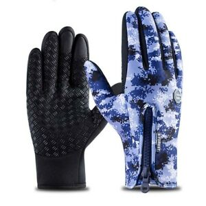 Winter Gloves Touch Screen Gloves Waterproof Windproof Gloves for Outdoor Sports