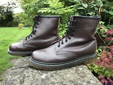 Dr doc Marten martens Original 1460 Unisex Boots Brown U.K. 8 EU 43