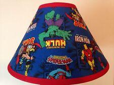 Marvel Superheroes Children's Fabric Lamp Shade