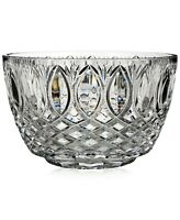 "NIB! Waterford 10"" Grant Crystal Bowl 40011234. Made in Slovenia MSRP $300"