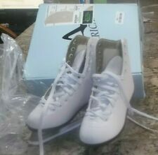 New listing American Athletic Shoe Women's Tricot Lined Ice Skates White Size 6 Model 522