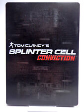 X360 / Xbox Spiel - Splinter Cell Conviction (Steelbook) (mit OVP) (USK18) (PAL)