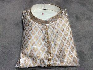 Men shalwar kameez   Indian/Pakistani kurta pyjama  Size 48