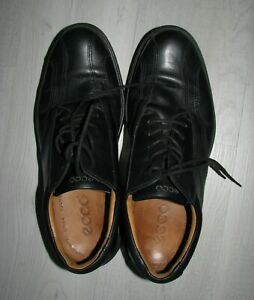 Men's Ecco Golf shoes black size 42 arch balance support leather comfort 8.5-9
