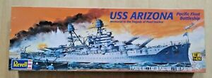 55-0302A REVELL 1/426 Scale USS ARIZONA (BB-39) Plastic Model Kit