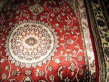 Persian Rug 2'x3' Pakistani Carpet Tribal 100% Silk 350 kpsi Sindhi Red New Nice
