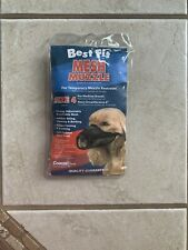 Muzzle, Dog, Restraint, Dog Training, Obedience, No Bark, Best Fit, Small, Med