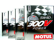 Motul 300V Power 5W40 8Liter Ester Racing Rennsport 5W-40 Öl 4x 2Liter Motoröl