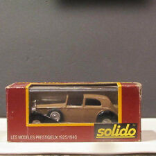Age d'or Solido:  Rolls Royce 1939 NIB - #71 1/43 scale