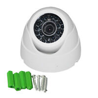 1000TVL 24IR  2.5MM Wide Range Lens IR-CUT Day/Night CCTV Internal Dome Camera
