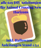 Animal Crossing New Horizons🌴alle 632 Anleitungen inkl. Weihnachts-Rezepte🌴