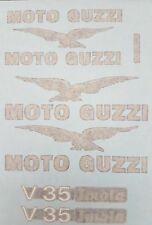 MOTO GUZZI V35 IMOLA MODEL  PAINTWORK DECAL KIT