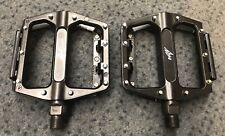"""Onza Genesis Zoot Comp Platform Bike Trials Pedals New Open Bearing 9/16"""" Axles"""