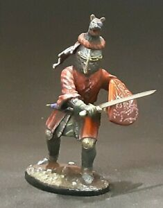 Knight tin toy soldier 54 mm 1/32 scale  HAND PAINTED