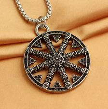 Nordic Pirate Compass Men's Accessories Pendant Necklace 1pcs