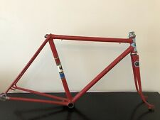 Vintage 1960's 48cm Tommy Nolan Of Denton Manchester Bicycle 531 Frameset Nervex