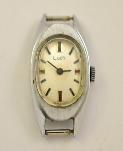 VINTAGE RUSSIAN SOVIET USSR LADIES SWRISTWATCH LUCH