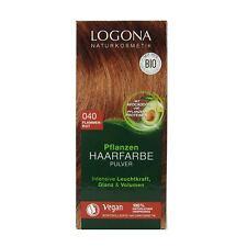 (7,95 EUR/100 g) Logona Pflanzenhaarfarbe Henna Pulver 040 Flammenrot 100 g
