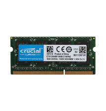 Crucial 4GB 2RX8 PC3L 12800S DDR3L 1600MHz Laptop Memory RAM SO-DIMM Notebook PC