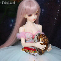 New Lace Dress clothes Hair Wig Shoes For 1/4 BJD Doll Fairyland Minifee Alicia