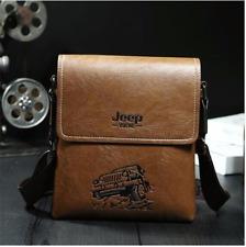 Sac à bandoulière pour hommes en cuir Jeep Yueke Ipad Iphone mode bag messager