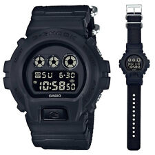 Casio G-Shock Nylon Alarm Chrono Digital Man's Watch DW-6900BBN-1 DW6900BBN New