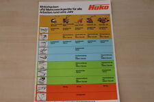 163295) Hako Motorhacken Prospekt 198?