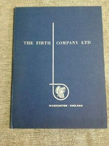 CATALOG THE FIRTH COMPANY LTD WARRINGTON-ENGLAND