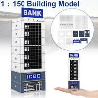 1:150 Scale Outland Modern Scene Bank Building Model N Gauge FOR GUNDAM Gifts