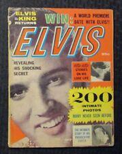 1960 ELVIS THE KING RETURNS Magazine G/VG 3.0 Elvis Presley