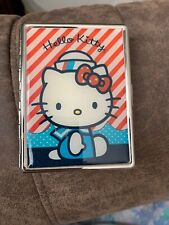 Loungefly Metal Hello Kitty Cigarette Card Money Case Sanrio 2007 Nice