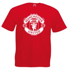Manchester United Man Utd Logo T-Shirt Football Merch