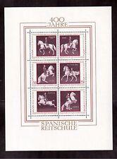AUSTRIA 1972 # 929 SOUVENIR SHEET MINT NH, SPANISH RIDING SCHOOL, VIENNA !!