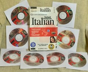 Instant Immersion Italian 8 CDs over 8 Hours Instruction