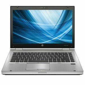 "HP EliteBook 8460p 14"" Laptop i5-2520M CPU 8GB RAM 240GB SSD DVD-RW Win 10 Pro"