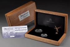 2012 Libertad 30th ANNIVERSARY Set Mexico Silver 1oz Proof 1/2oz BU Figurine Box