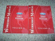 2007 Ford Ranger Truck Service Repair Manual XL XLT Sport STX FX4 3.0L 4.0L V6