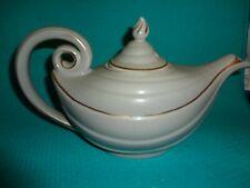 Teapot - White with Gold Trim