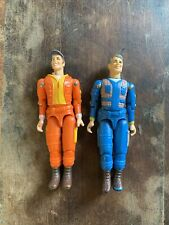 Vintage Galoob A-Team Hannibal and Howling Mad Murdock 1983 Figures