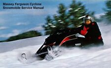 MASSEY FERGUSON CYCLONE WORKSHOP SERVICE & PARTS MANUALs for Snowmobile Repair