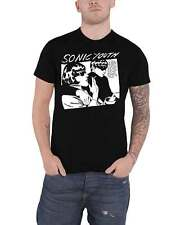 Sonic Youth T Shirt Goo Album Cover Band Logo new Official Mens Black