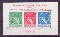 Berlin 1949 - Block 1 - Währungsgeschädigte postfrisch**- Michel 950,00 € (227)