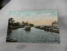 More details for postcard  p8f5  linnet crinan  canal