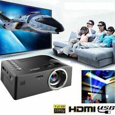 PROIETTORE LED FULL HD 1080P VIDEOPROIETTORE HDMI USB VGA Home Cinema
