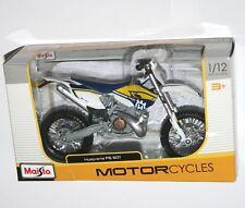 Husqvarna FE 501 1:12 MX Bike Toy Model Maisto Motocoross