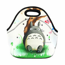 Totoro Thermal Cooler Insulated Lunch Bag Picnic Carry Neoprene Tote Storage Bag