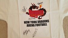Autographed 2003 Arena Football New York Dragons T Shirt