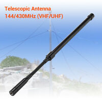 SMA-M Tactical Antenna Dual Band 144/430Mhz 39cm For BaoFeng Yaesu Walkie Talkie